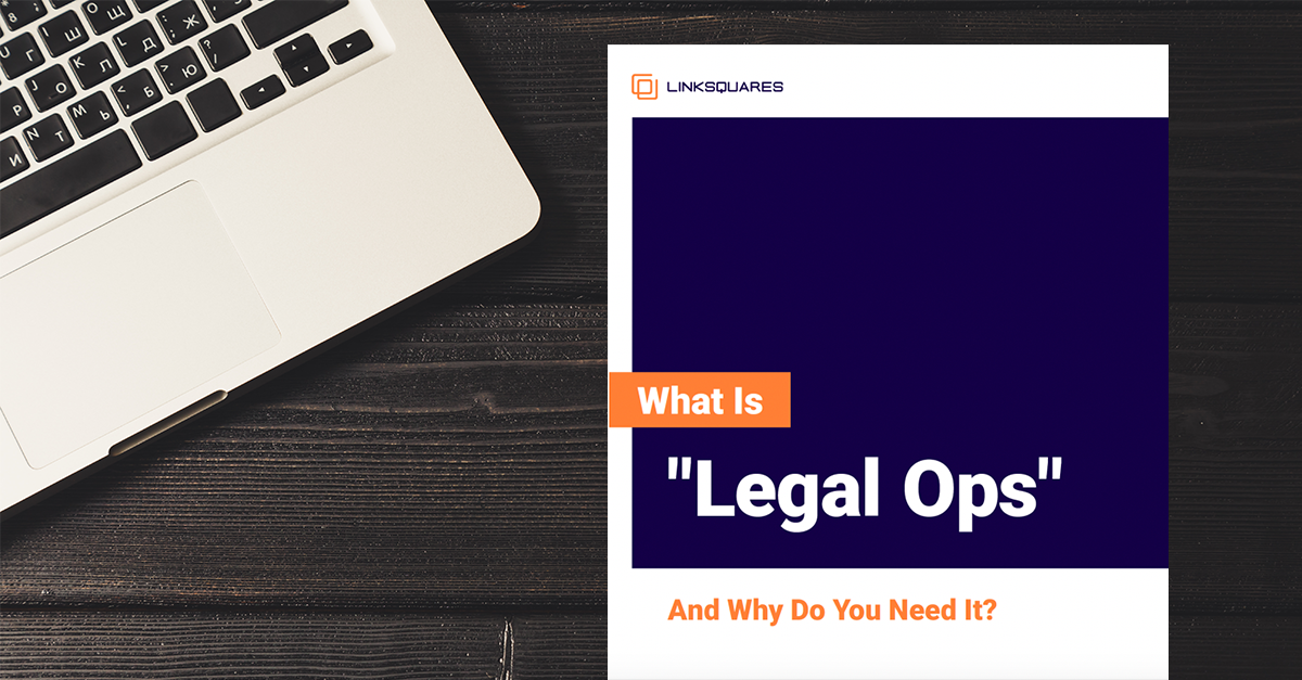 legal ops ebook resource page